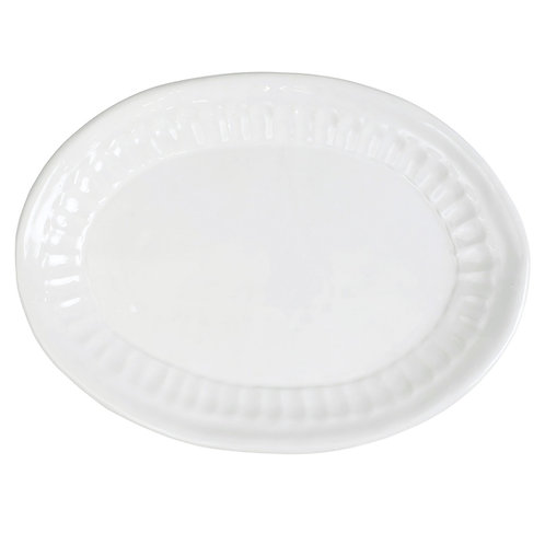 Pietra Serena Small Oval Platter