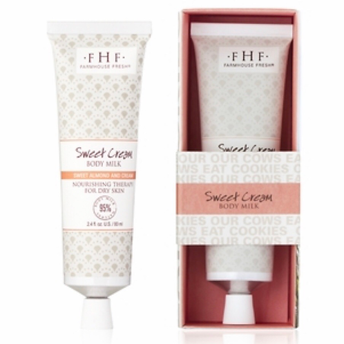 Sweet Cream Body Milk Travel Lotion