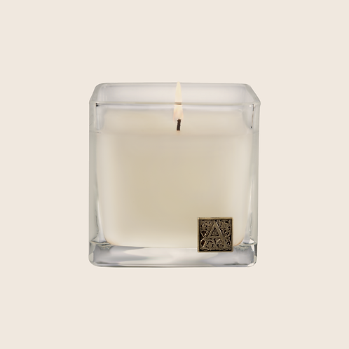 Gingerbread Brûlée - Cube Glass Candle