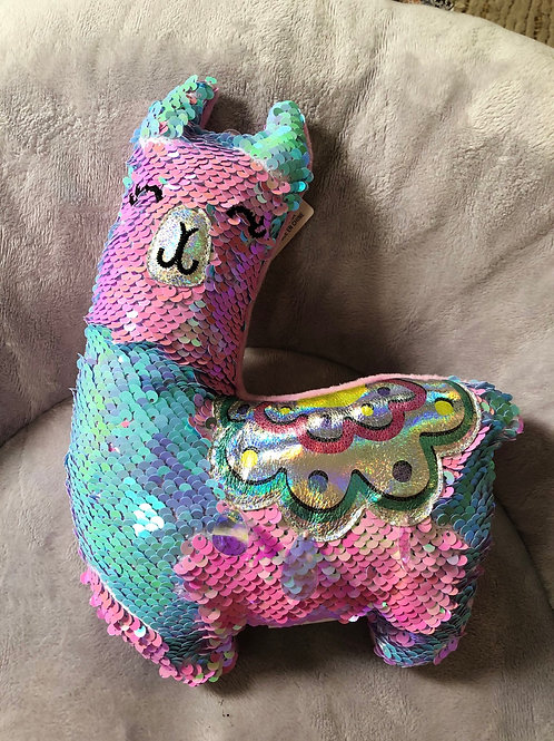 MAGIC SEQUIN PLUSH LLAMA