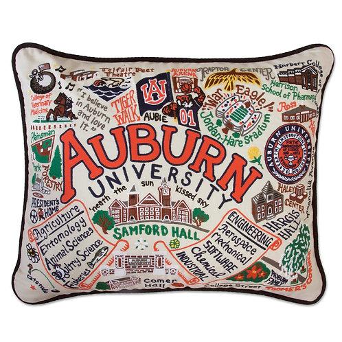 Auburn University Collegiate Embroidered Pillow