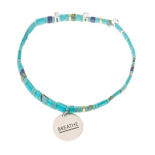 Good Karma Miyuki Charm Bracelet | Breathe