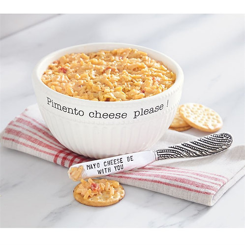 Pimento Cheese Serving Set