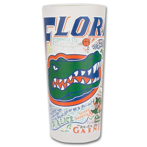 Florida, University of Collegiate Drinking Glass