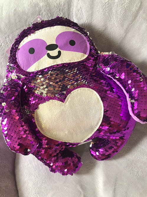 MAGIC SEQUIN PLUSH SLOTH