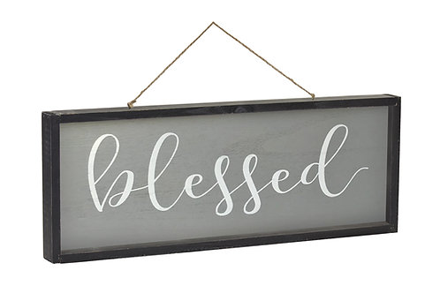Blessed/Family Frame