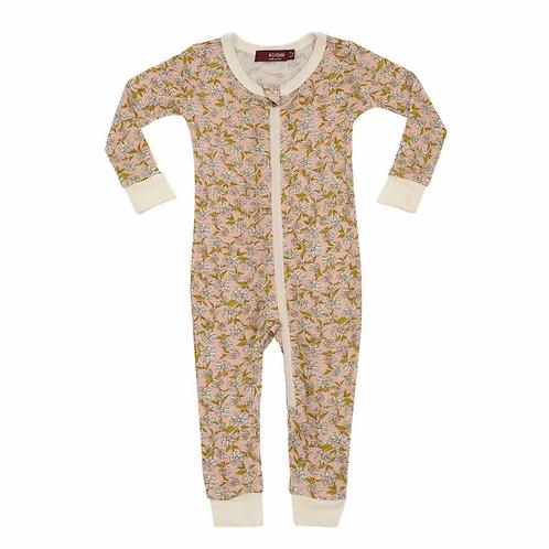 Bamboo Zipper Pajama