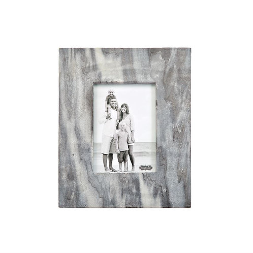 Large Gray Marble Picture Frame