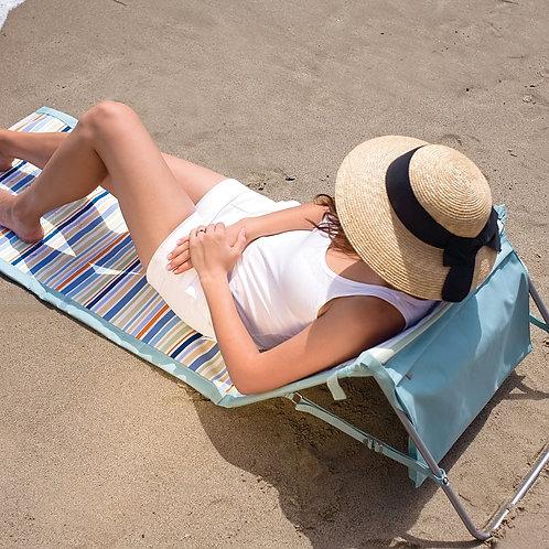 Beachcomber Outdoor Beach Mat & Tote - St. Tropez