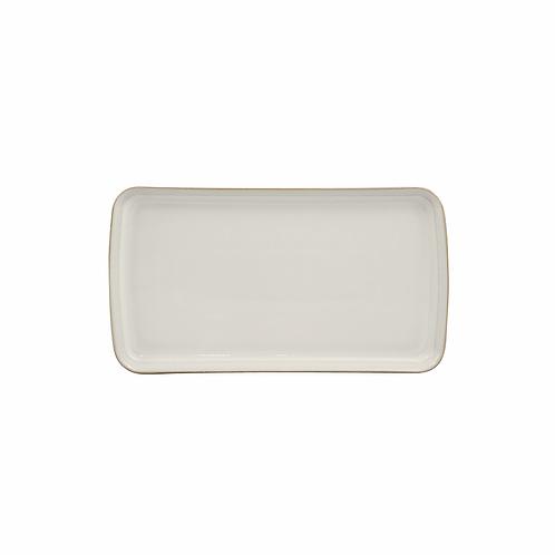 Natural Canvas Small Rectangular Platter