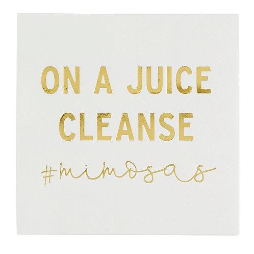 Cocktail Napkin - Juice Cleanse