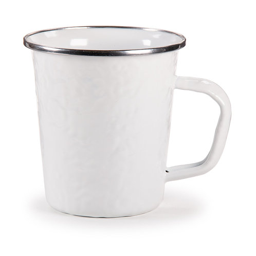 Solid White Latte Mugs