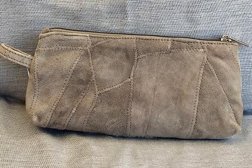 CLARA HIDE COSMETIC BAG