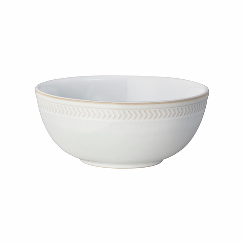 Natural Canvas Textured Cereal Bowl Natural Canvas Textured Cereal Bowl