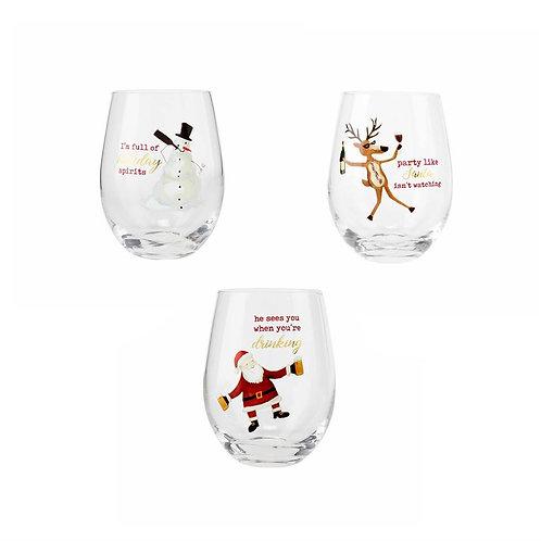 ICON WINE GLASSES