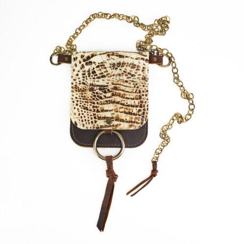 Belt Bag: Mock Croc
