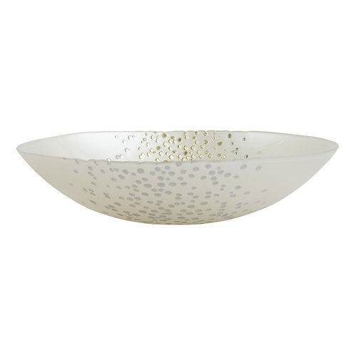 CONFETTI GLASS MEDIUM BOWL