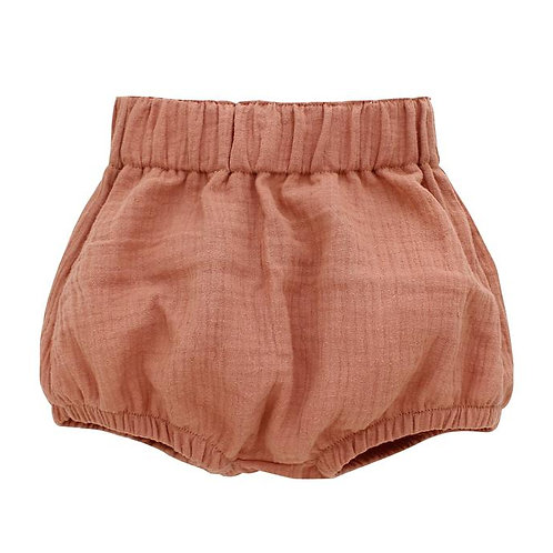 BLUSH GAUZE BLOOMERS