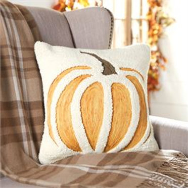 CUT OUT PUMPKIN PILLOW