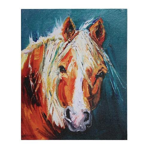 Canvas Wall Decor w/ Horse