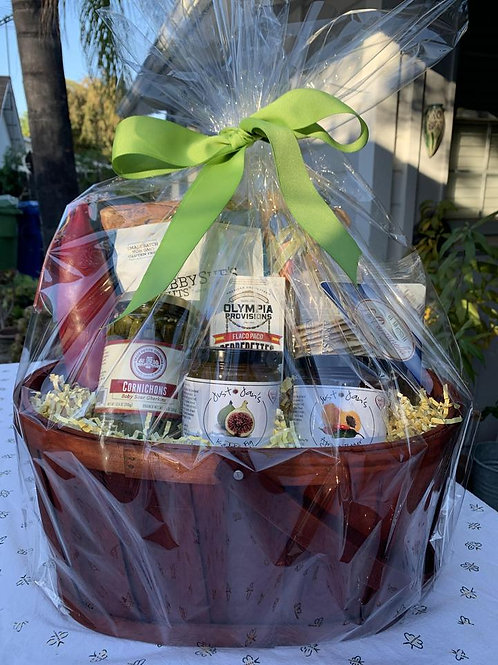 JUST ADD CHEESE GIFT BASKET