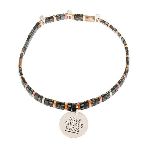 Good Karma Miyuki Charm Bracelet | Love Always Wins -