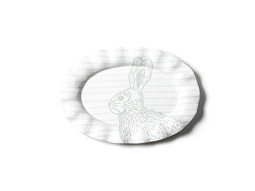 SPECKLED RABBIT PLATTER