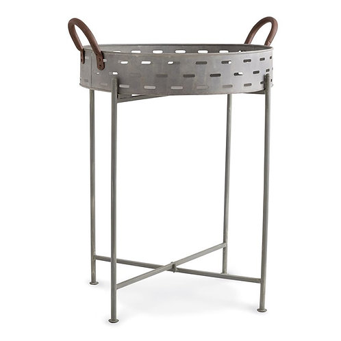 Tin Perforated Table