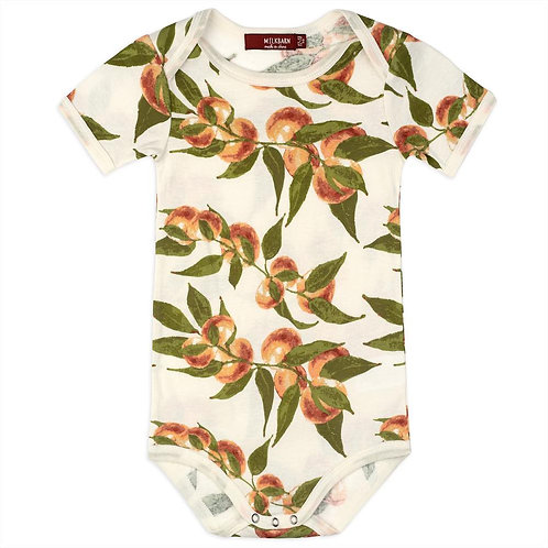 Peaches Organic Cotton One Piece