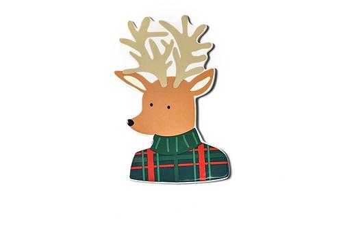 Plaid Reindeer Big Attachment