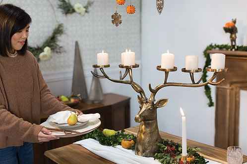 STAG CANDLE HOLDER