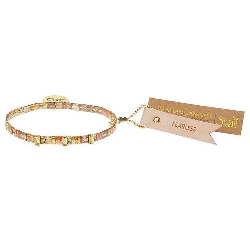 Good Karma Miyuki Charm Bracelet | Fearless