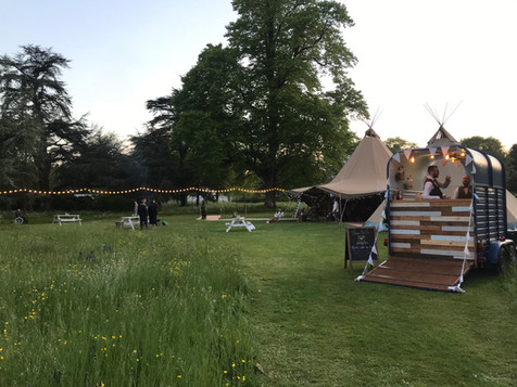Tipi Wedding Bar