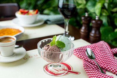 Sorbet and Ice Cream