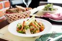 Salade César avec Crevettes