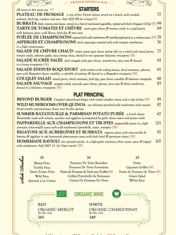 The Green Menu