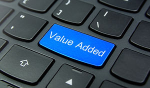 keyboard value added key