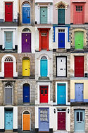 Doors all colours
