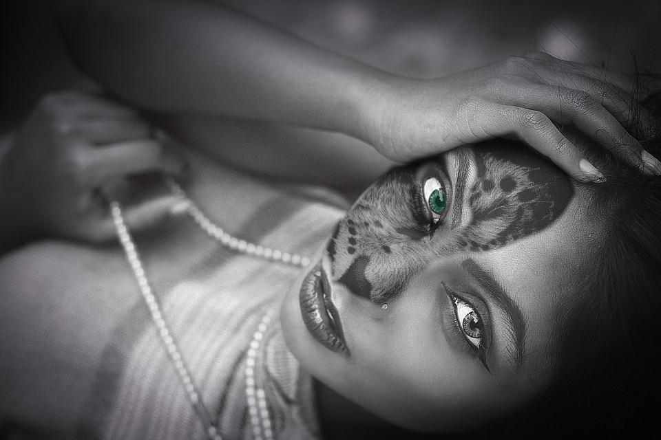 Femme léopard