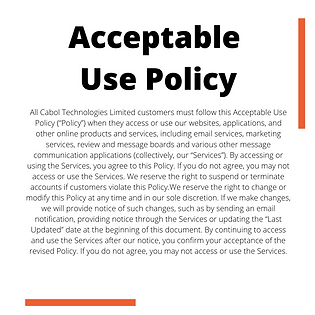 Active Agent Acceptable Use Policy