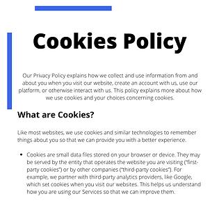Active Agent Cookies Policy
