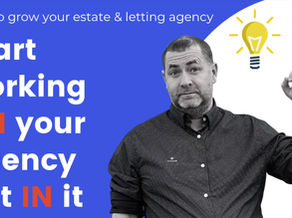 Start working on your agency not in it.