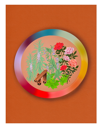 Circle of Protection: Comfort Herbs Art Print