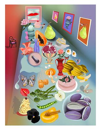 Banquet Art Print