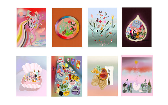 Set of Any Two or more 8x10 Art Prints