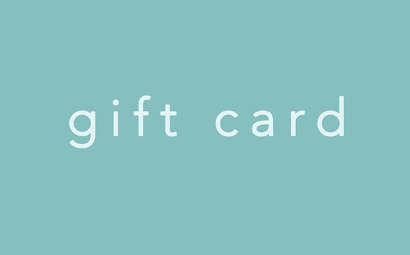 Gift Card - $20 and up