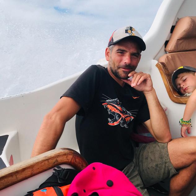 Trajet en Bateau pour Puerto Ayora