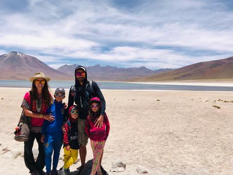 De Calama à Atacama, une des régions les plus arides du Monde !