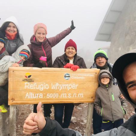 Bye Bye Puyo- Ascension du Chimborasso