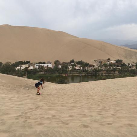 Huacachina, dunes de sables et mésaventures !